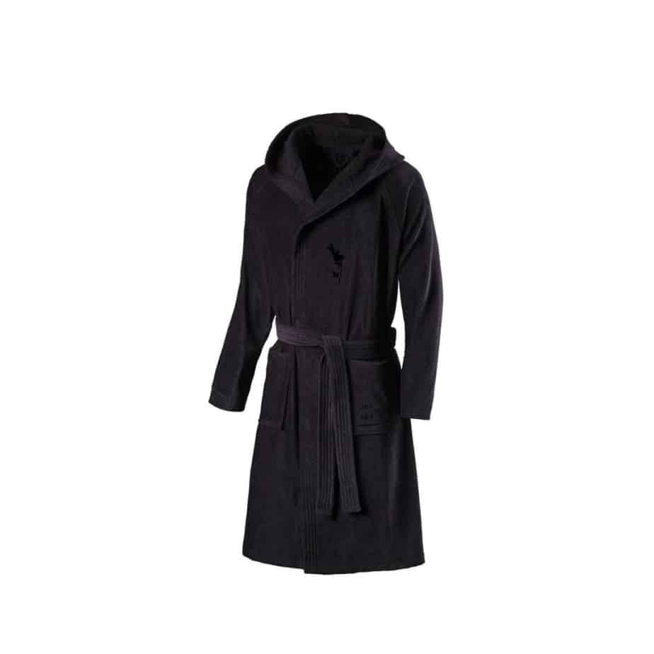 spa robe [black]